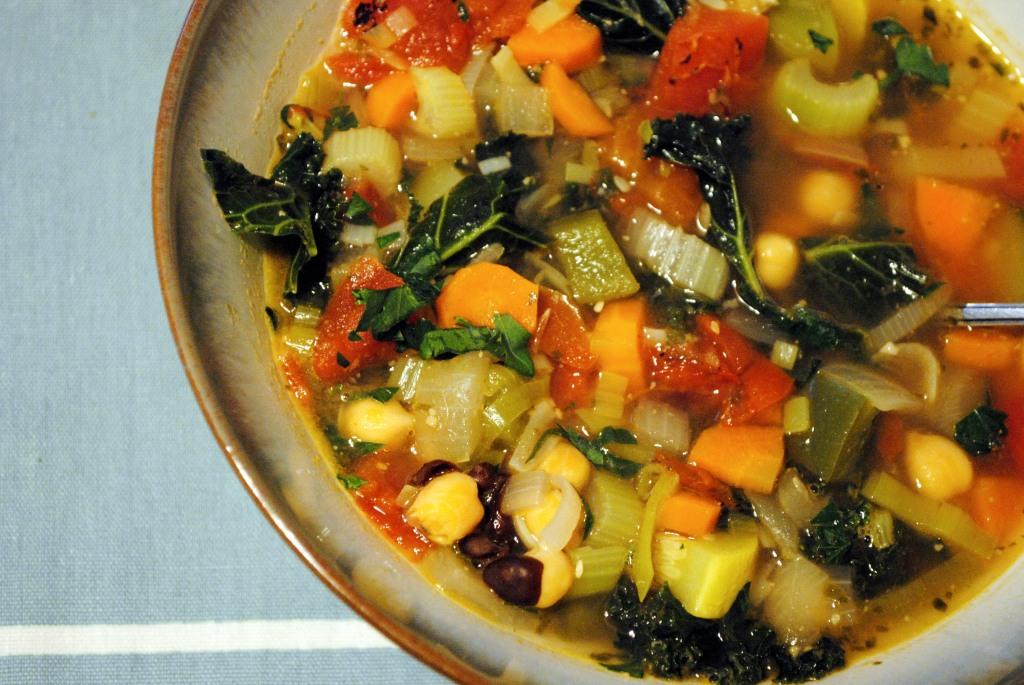 Kitchen Sink Vegetable Soup Recipe