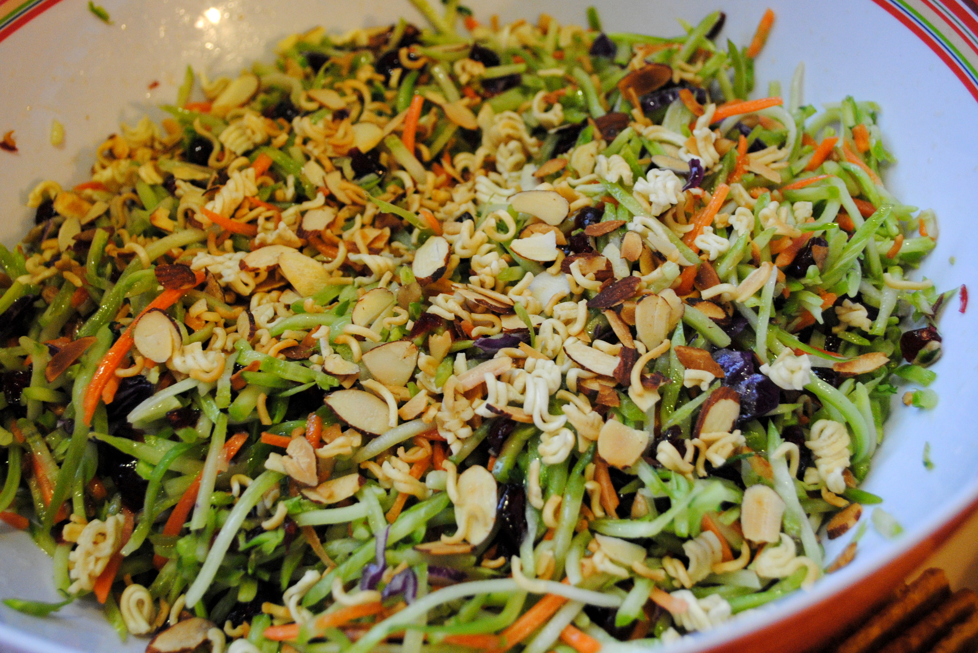 Broccoli Slaw: Great for Potlucks or Cookouts! |