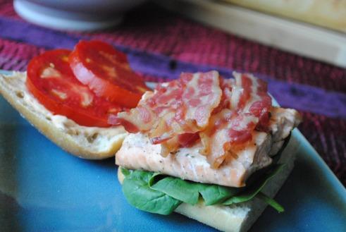 Salmon BLT 2