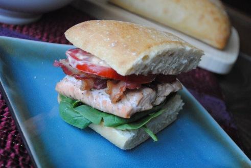 Salmon BLT 3