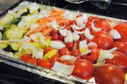 Roasted Vegetable Tomato Sauce