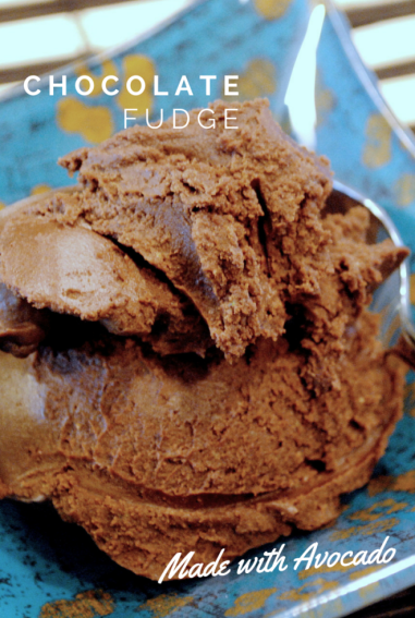 Avocado Chocolate Fudge