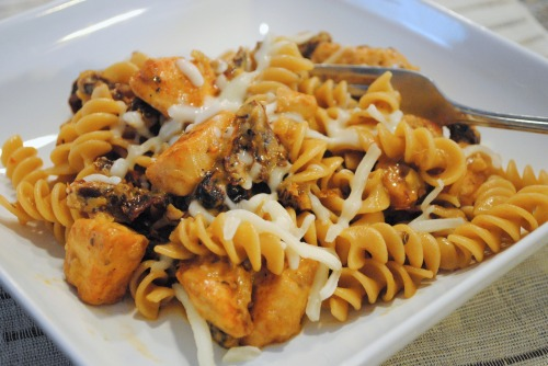 Creamy Sun-Dried Tomato Pasta with Chicken